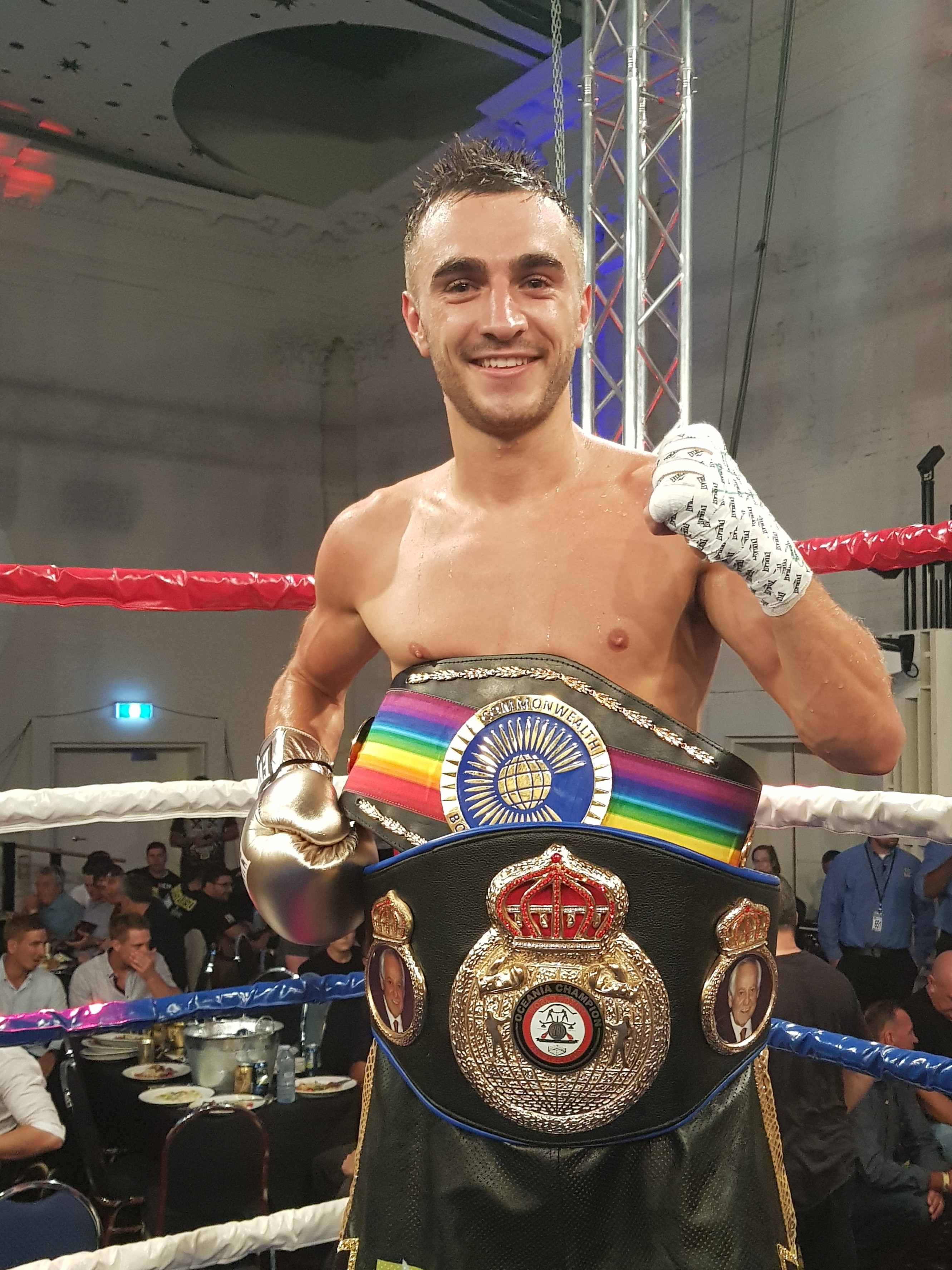 AND THE NEW BANTAMWEIGHT CHAMPION IS…