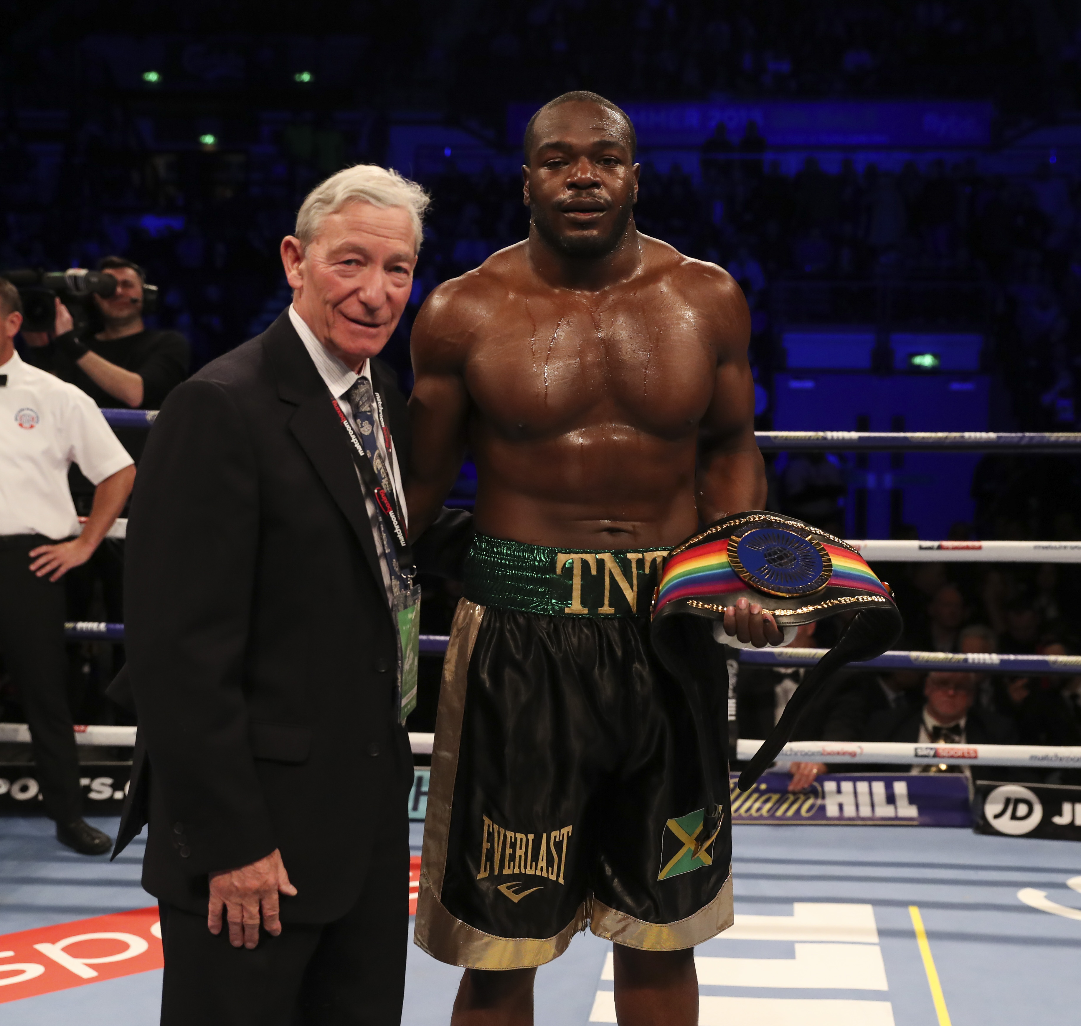 LENROY THOMAS REMAINS CHAMPION AFTER NO CONTEST RULED